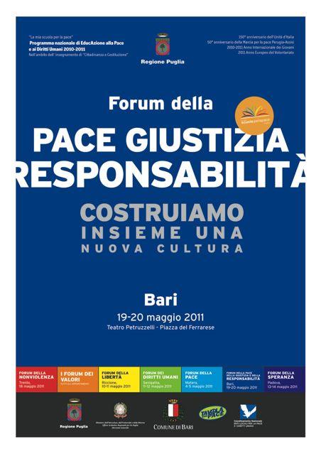 La scuola rigenera i valori: da domani a Bari il Forum della Pace, della Giustizia e della Responsabilità