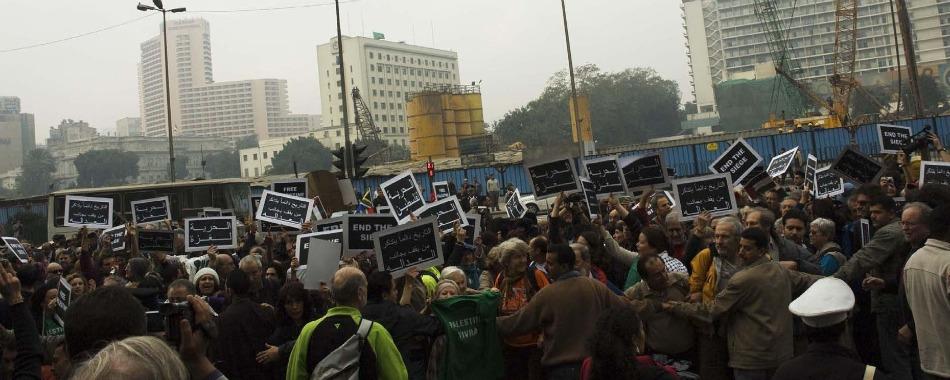 """I ribelli sperano nella """"carta"""" egiziana"""