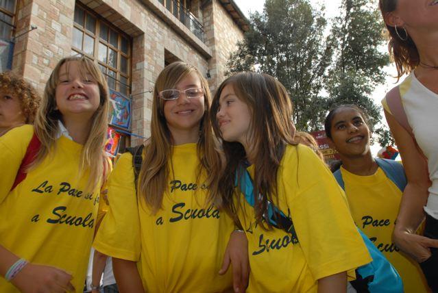 Assisi: 4° Meeting nazionale delle scuole di pace