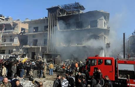 Esplosioni a Damasco, morti e feriti
